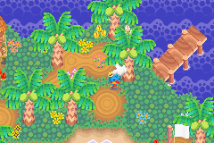 Animal Island (Animal Crossing for Gamecube with Game Boy Advance attached)