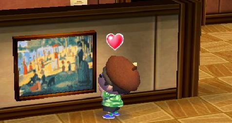 paintings you can buy from Tom Nook or Redd, or find on your own